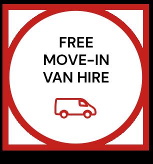free move-in van hire