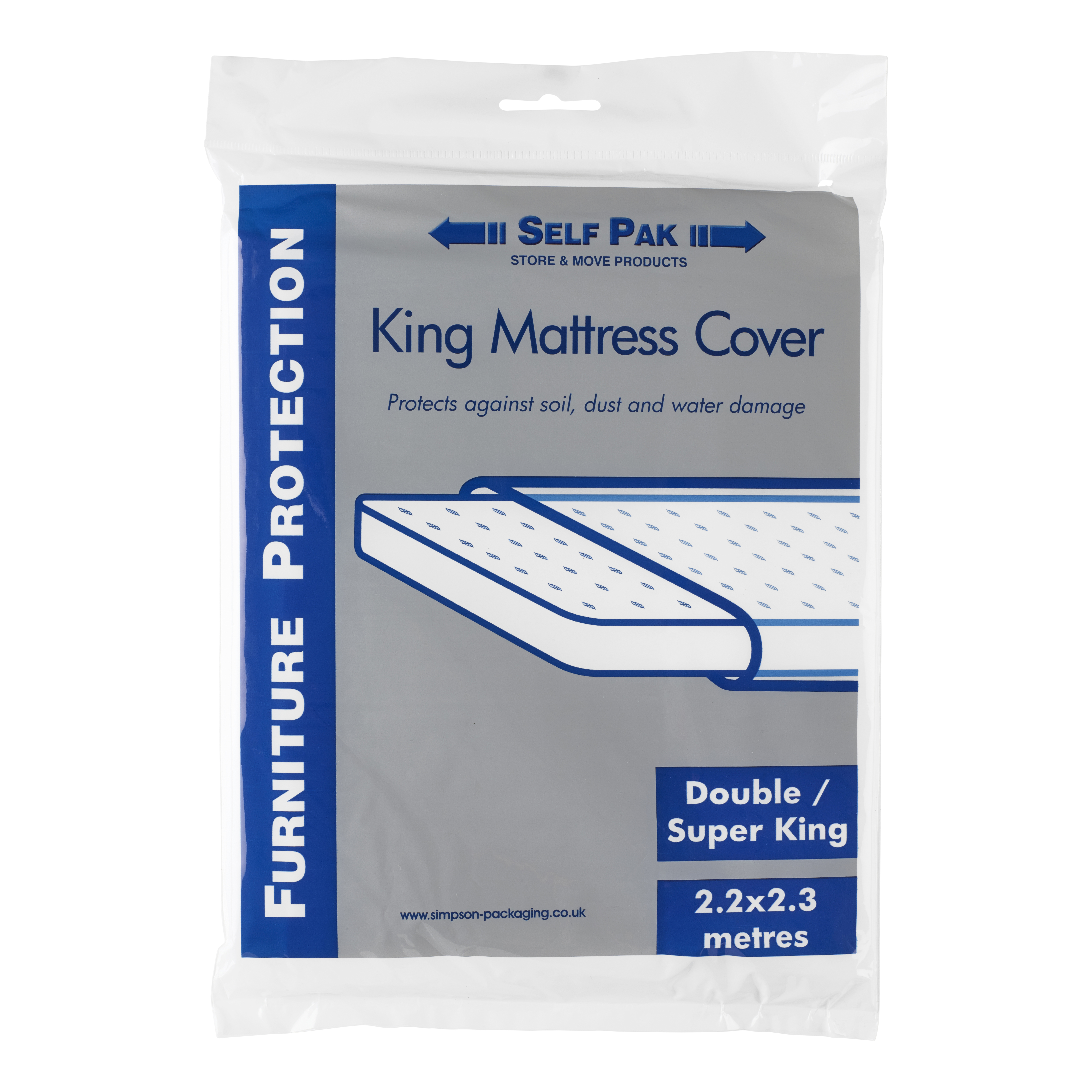 King Size Mattress Protector   Boxes and Packaging   Go Store