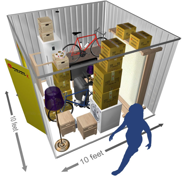 100 SQ.FT Private Store Room