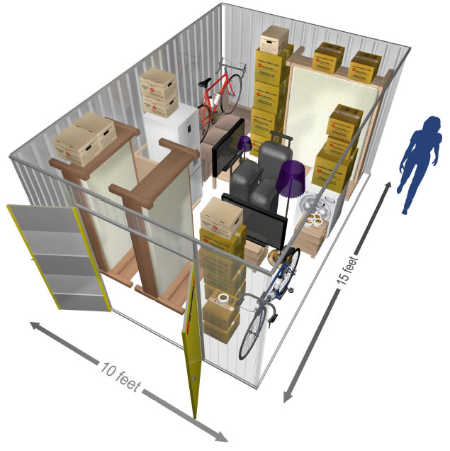 150 SQ.FT Private Store Room