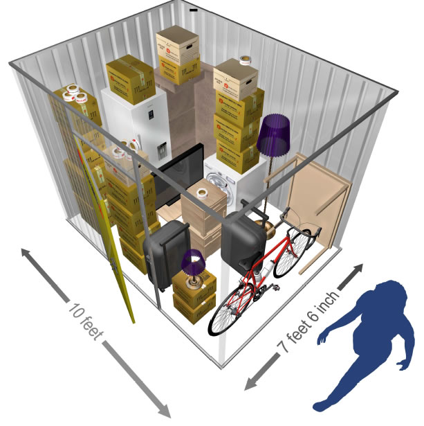 75 SQ.FT Private Store Room